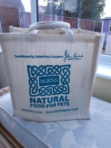 Printed Natural Jute Bag in natural